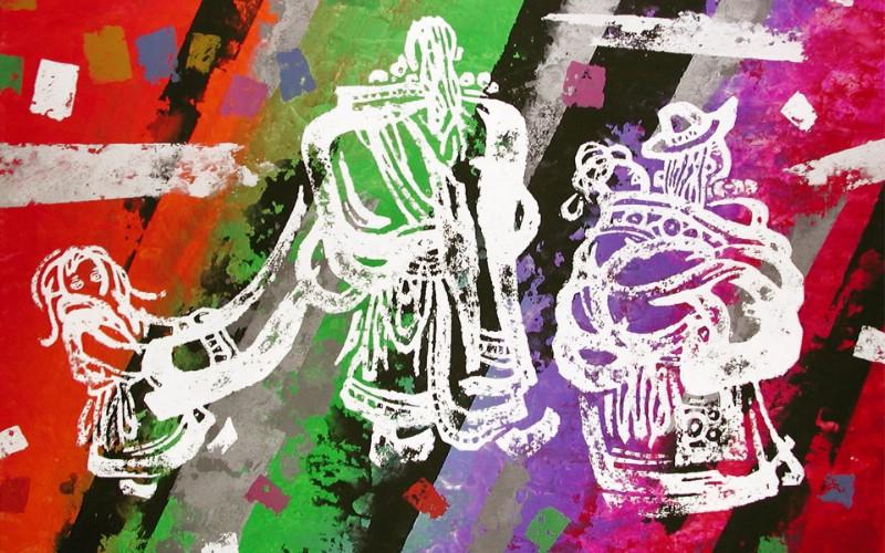 藏族祥巴版画 壁纸6壁纸 藏族祥巴版画壁纸 藏族祥巴版画图片 藏族祥巴版画素材 绘画壁纸 绘画图库 绘画图片素材桌面壁纸