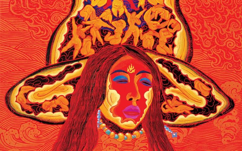 藏族祥巴版画 壁纸9壁纸 藏族祥巴版画壁纸 藏族祥巴版画图片 藏族祥巴版画素材 绘画壁纸 绘画图库 绘画图片素材桌面壁纸