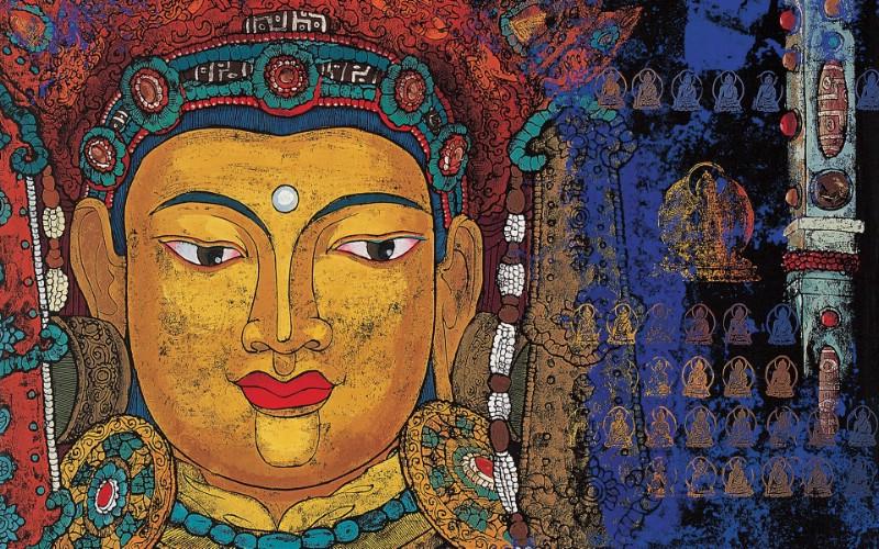 藏族祥巴版画 壁纸10壁纸 藏族祥巴版画壁纸 藏族祥巴版画图片 藏族祥巴版画素材 绘画壁纸 绘画图库 绘画图片素材桌面壁纸