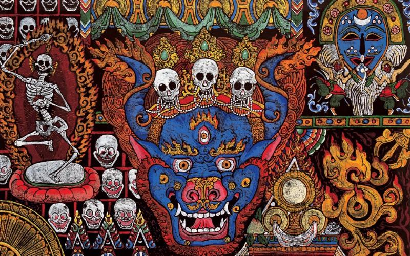 藏族祥巴版画 壁纸24壁纸 藏族祥巴版画壁纸 藏族祥巴版画图片 藏族祥巴版画素材 绘画壁纸 绘画图库 绘画图片素材桌面壁纸