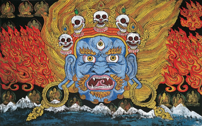 藏族祥巴版画 壁纸26壁纸 藏族祥巴版画壁纸 藏族祥巴版画图片 藏族祥巴版画素材 绘画壁纸 绘画图库 绘画图片素材桌面壁纸