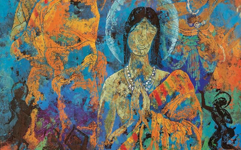 藏族祥巴版画 壁纸29壁纸 藏族祥巴版画壁纸 藏族祥巴版画图片 藏族祥巴版画素材 绘画壁纸 绘画图库 绘画图片素材桌面壁纸