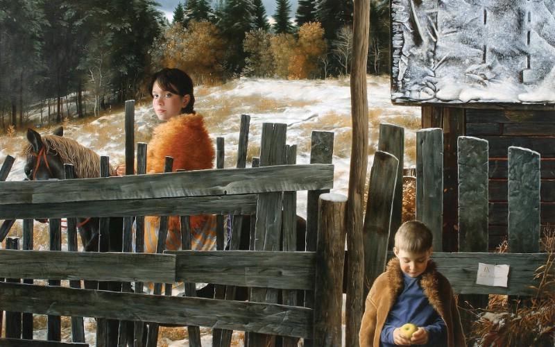 俄罗斯艺术家Arsen Kurbanov 油画作品宽屏壁纸 壁纸3壁纸 俄罗斯艺术家Arse壁纸 俄罗斯艺术家Arse图片 俄罗斯艺术家Arse素材 绘画壁纸 绘画图库 绘画图片素材桌面壁纸