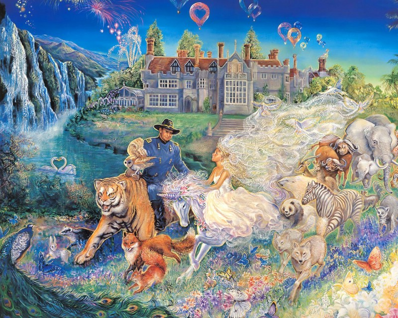 【转载】英国艺术家约赛芬华尔(Josephine Wal)绘画作品(二) - 笑然 - xiaoran321456 的博客