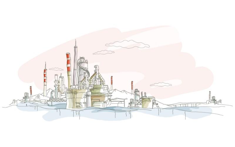 简笔城市风光 2 3壁纸 简笔城市风光壁纸 简笔城市风光图片 简笔城市风光素材 绘画壁纸 绘画图库 绘画图片素材桌面壁纸