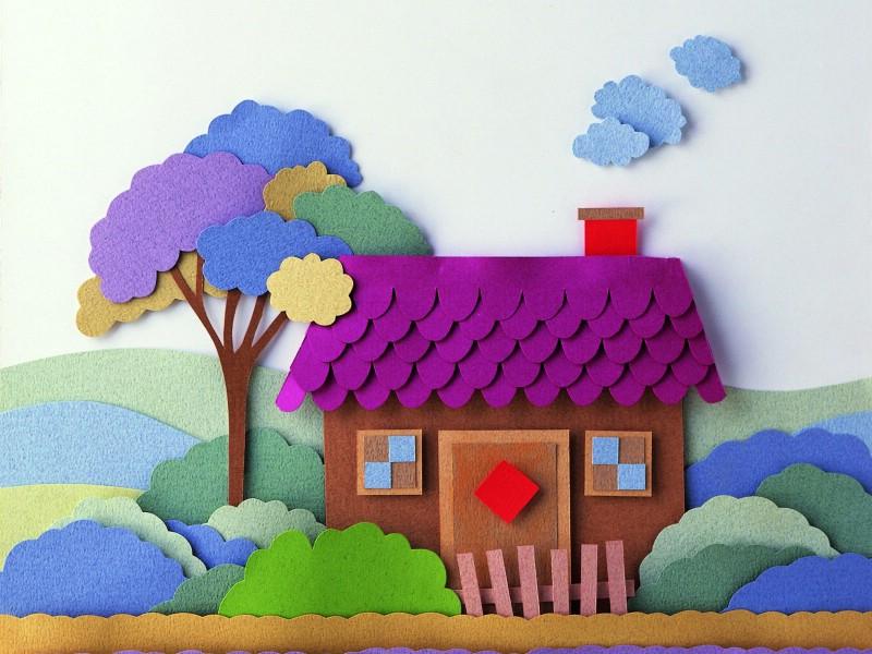 剪纸贴画 2 5壁纸,剪纸贴画壁纸图片 绘画壁纸 绘画图片素