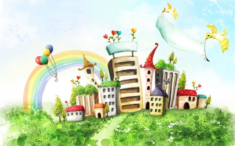 梦幻风光 11 19壁纸 梦幻风光壁纸 梦幻风光图片 梦幻风光素材 绘画壁纸 绘画图库 绘画图片素材桌面壁纸