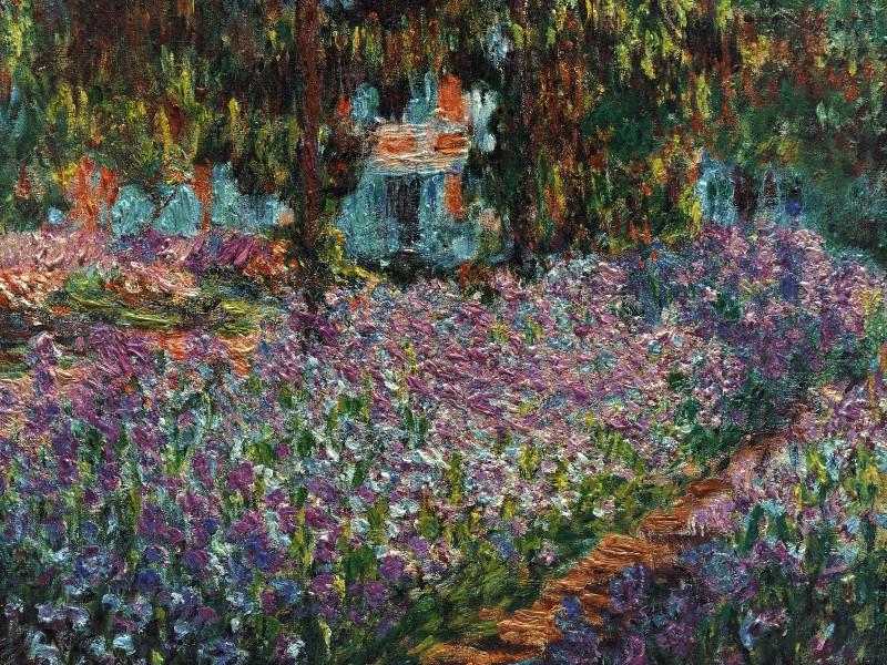 壁纸 莫奈/印象派画家壁纸西方古典绘画莫奈风景油画壁纸1600 1200
