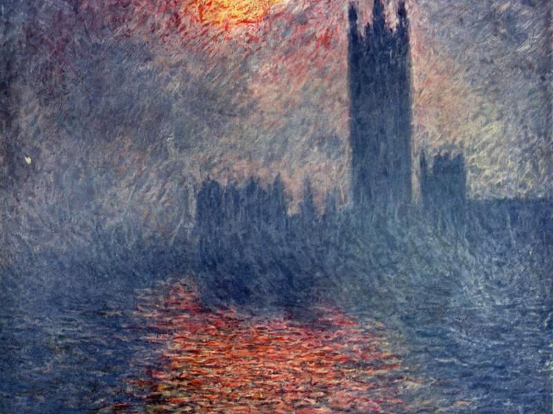 莫奈/莫奈作品莫奈油画 Claude Monet Painting Art 壁纸6