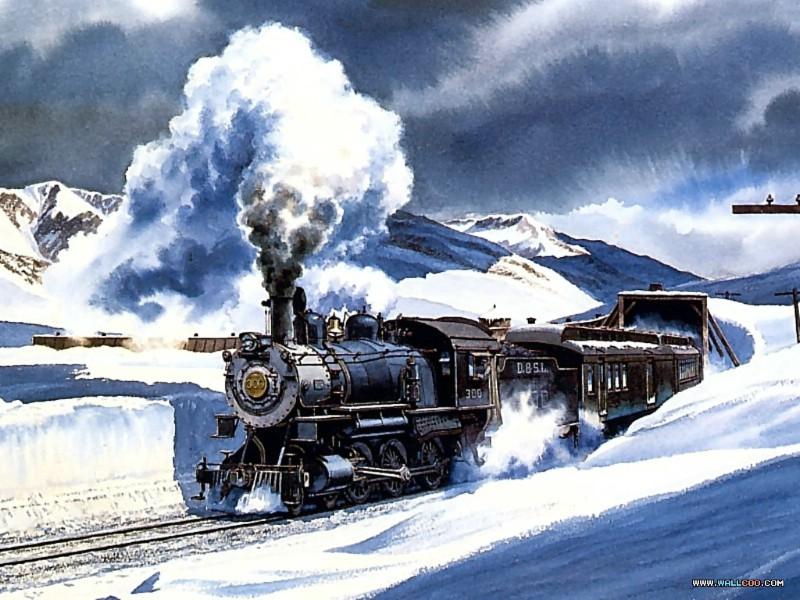 蒸汽火车简笔画步骤