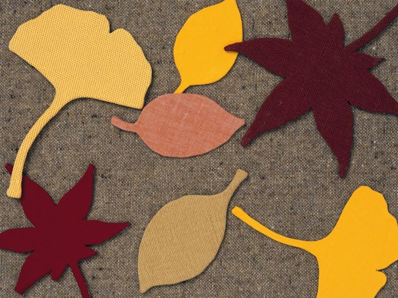 秋季 日本手工布艺贴画图片壁纸,日本风情手工布艺画 秋冬篇壁纸图