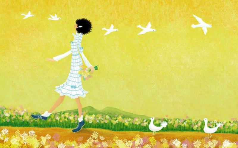 手绘浪漫女孩 壁纸19壁纸 手绘浪漫女孩壁纸 手绘浪漫女孩图片 手绘浪漫女孩素材 绘画壁纸 绘画图库 绘画图片素材桌面壁纸