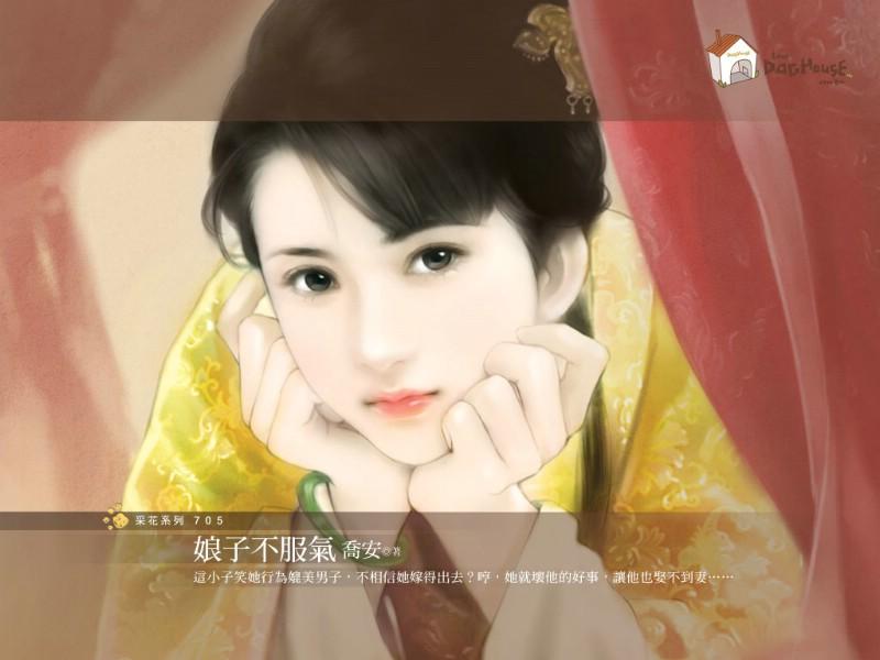 中国古代美女绘画壁纸壁纸,言情小说封面 手绘古代美女壁纸壁纸图片图片