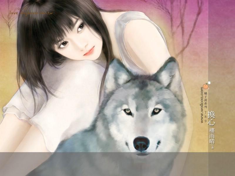 言情小说封面 清纯手绘美女 第十九辑 共702张 清纯手绘女孩 言情小说图片
