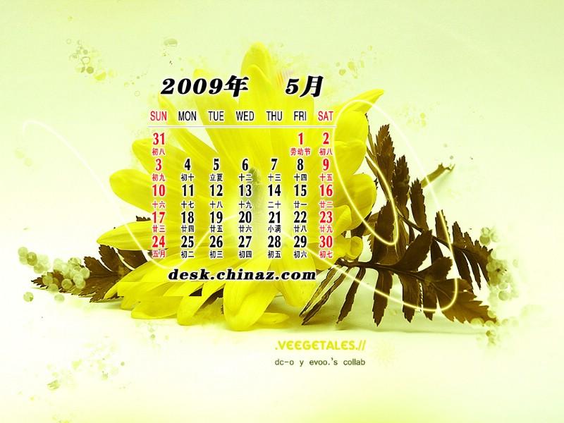 2009年5月月历壁纸壁纸 2009年5月月历壁纸壁纸 2009年5月月历壁纸图片 2009年5月月历壁纸素材 节日壁纸 节日图库 节日图片素材桌面壁纸