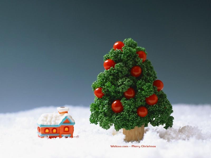 精致可爱圣诞装饰壁纸 lovely christmas decoration