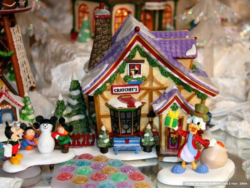 可爱耶诞节糖果屋摆设 christmas decoration christmas house craft