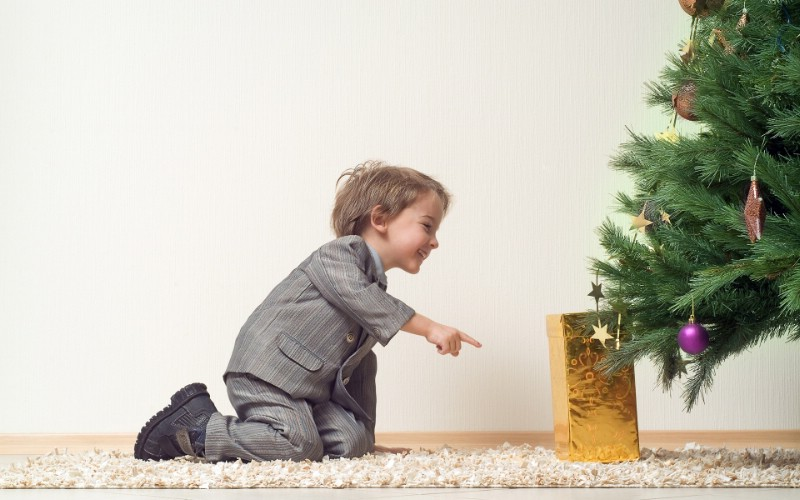 可爱宝宝过圣诞 圣诞节人物图片壁纸 快乐圣诞节圣诞人物主题摄影二壁