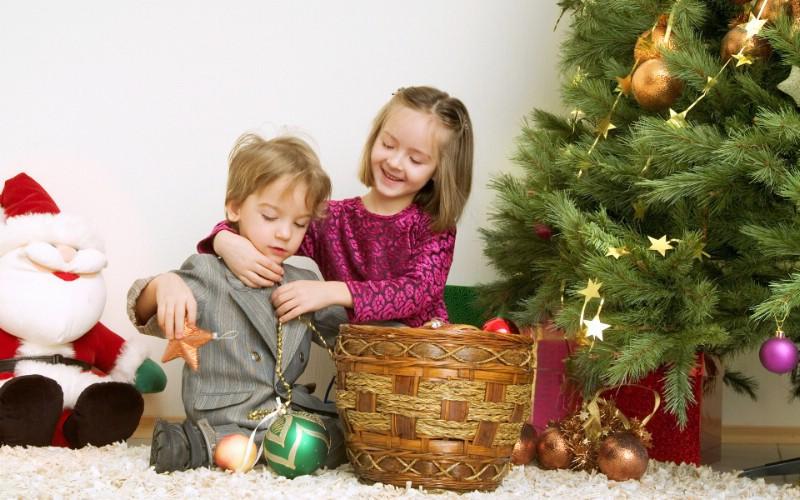 可爱宝宝过圣诞 圣诞节小孩子图片壁纸,快乐圣诞节-()