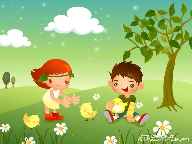 快乐童年 快乐六一儿童节壁纸