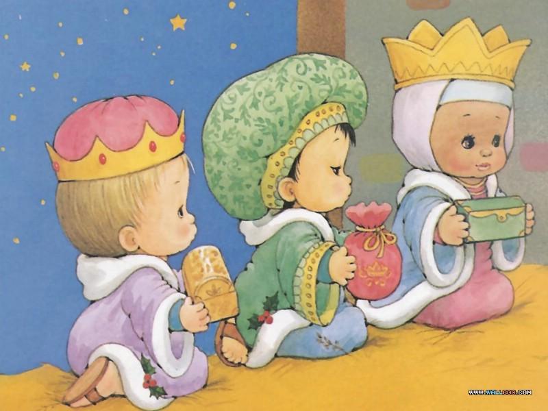 story the birth of jesus 耶稣基督降生故事绘本 三圣贤朝拜圣婴的