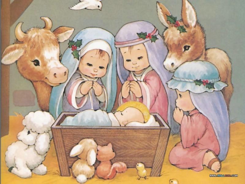 圣诞节的来历 耶稣基督出生的圣经故事 The Christmas Story The Birth