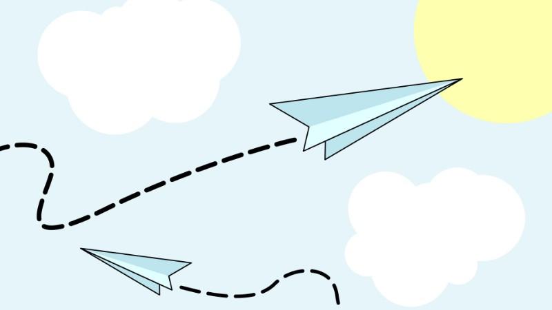 卡通飞机简易图片_图片大全