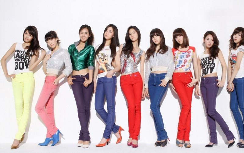 少女时代 韩国美女组合