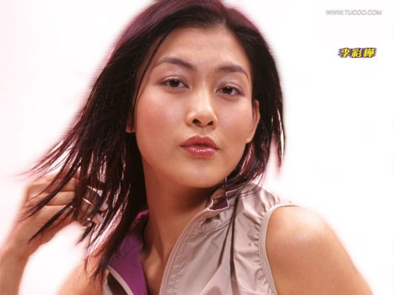 香港女星rain lee 李彩桦壁纸素材