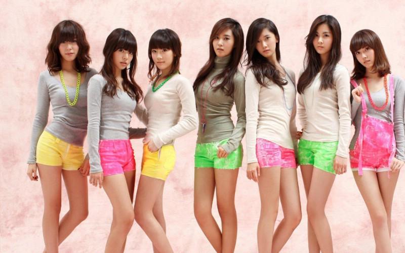 少女时代组合 1 3壁纸 女星模特 少女时代组合