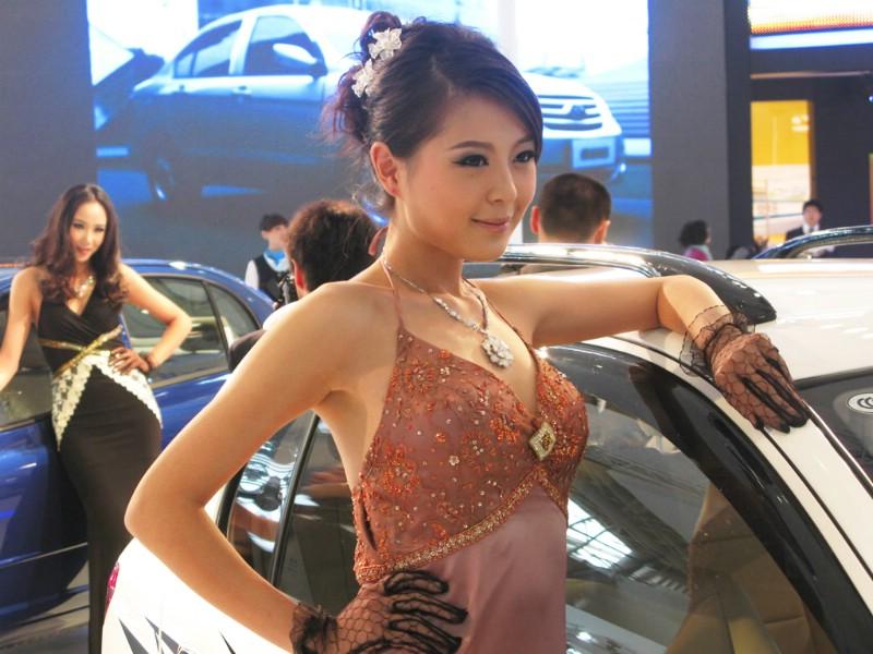 广州车展车模壁纸壁纸 广州车展车模壁纸壁纸