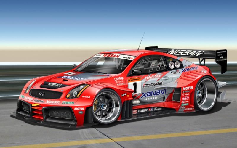 Infiniti G36 Gtr 跑车infiniti G36 Gtr Race Car壁纸 宽屏手绘超级跑车壁纸