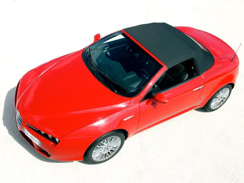 意大利浪漫敞篷Alfa Romeo Spider精美壁纸,意大利浪漫敞篷...