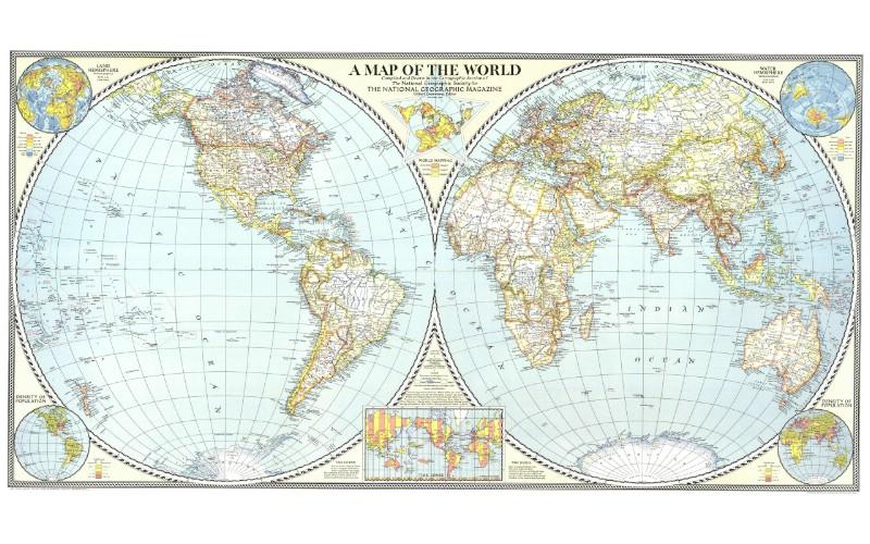 超大世界地图 1 6