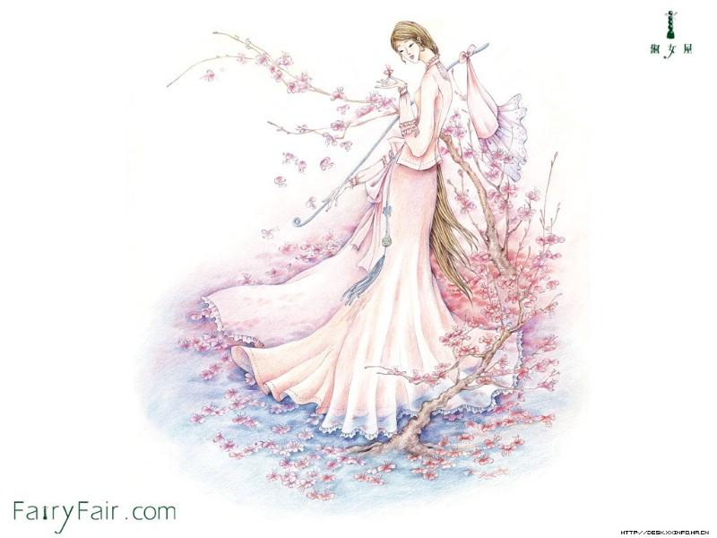 客厅植物手绘墙画图片大全土巴兔装修效果图.唯美浪漫的手绘