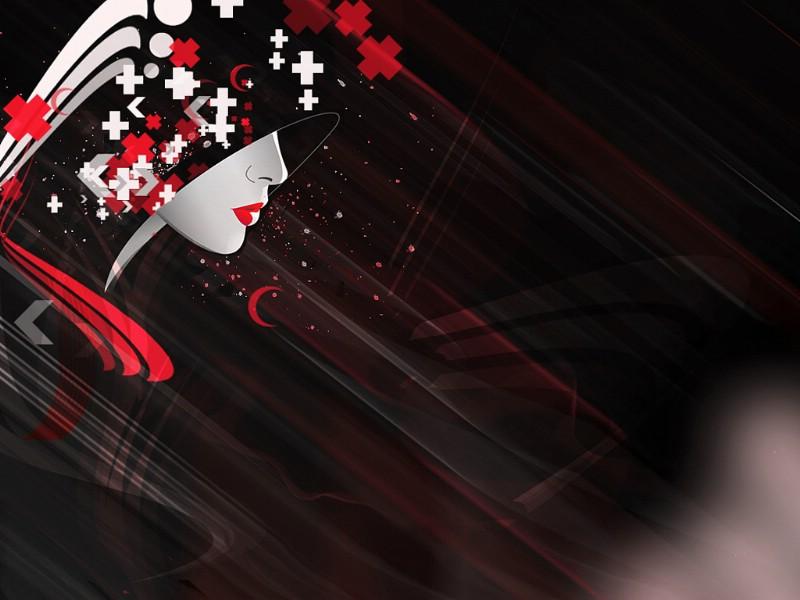 人物插画 壁纸6壁纸,人物插画壁纸图片 设计壁纸 设计图片...