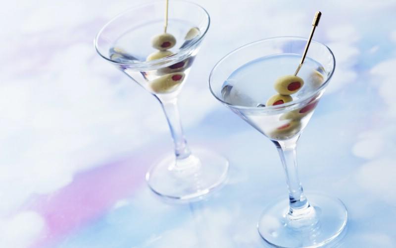 冰凉夏日酒香 酒水饮品高清摄影 martini 鸡尾酒