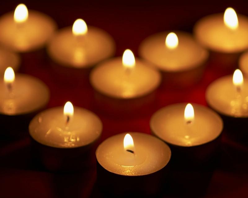 1280 1024 蜡烛壁纸 烛光壁纸 Romantic Candle Light Desktop壁纸,浪漫烛光(第