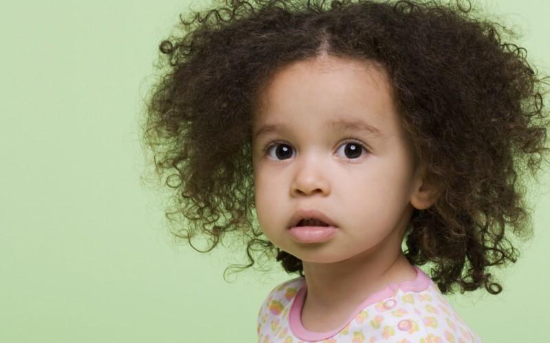 天使在人间 儿童摄影壁纸 超级小卷毛 可爱儿童大头照