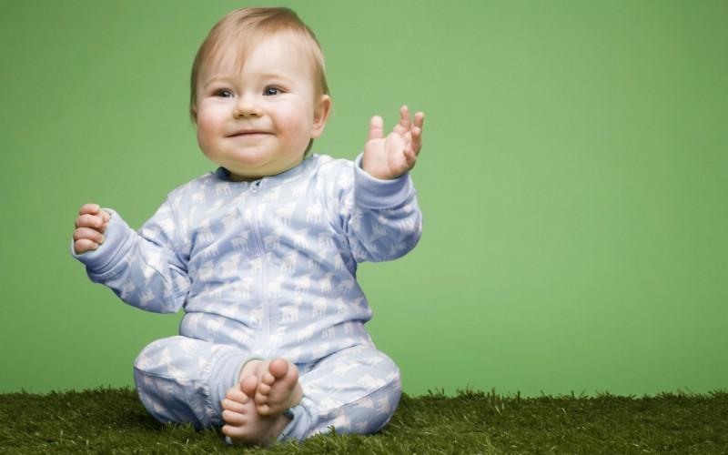 天使在人间 儿童摄影壁纸 可爱外国婴儿图片 儿童摄影