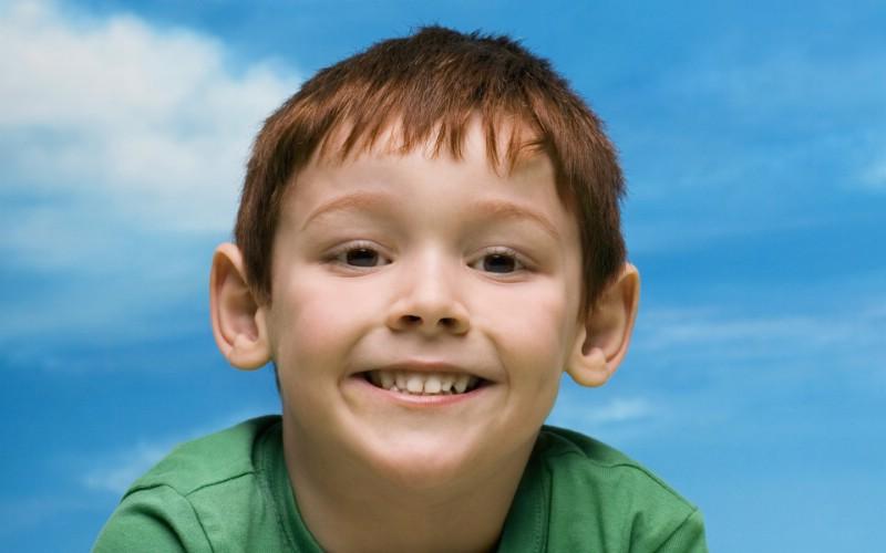 天使在人间 儿童摄影壁纸 可爱小孩大头照壁纸