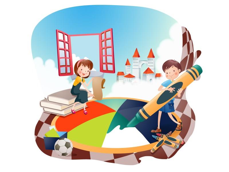 快乐暑假 2 14壁纸 快乐暑假壁纸 快乐暑假图片 快乐暑假素材 矢量壁纸 矢量图库 矢量图片素材桌面壁纸