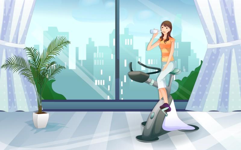 女性休闲运动 2 11壁纸 女性休闲运动壁纸 女性休闲运动图片 女性休闲运动素材 矢量壁纸 矢量图库 矢量图片素材桌面壁纸