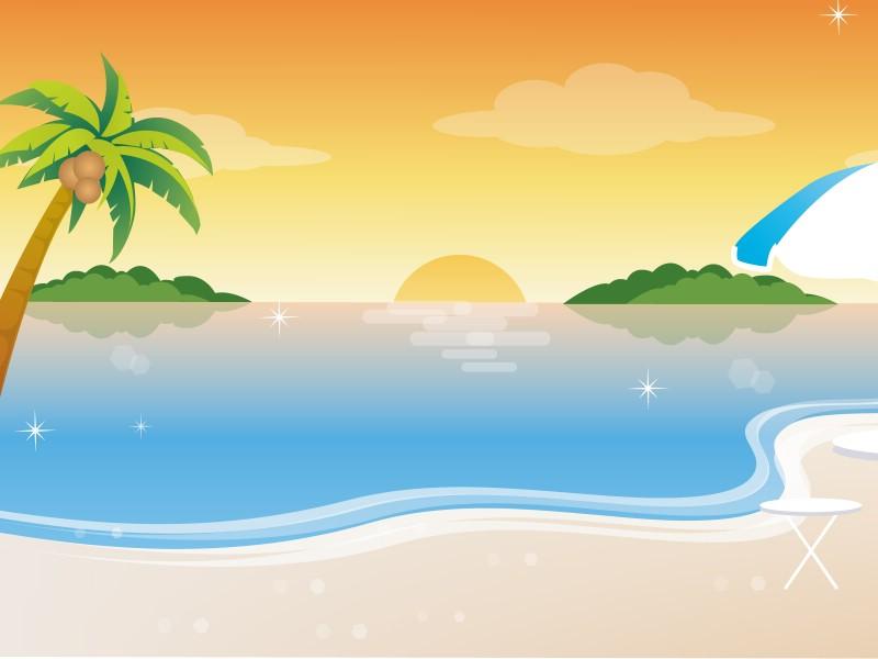 矢量夏日海滩 1 19壁纸 矢量风光 矢量夏日海滩 第一辑壁纸 矢量风光 矢量夏日海滩 第一辑图片 矢量风光 矢量夏日海滩 第一辑素材 矢量壁纸 矢量图库 矢量图片素材桌面壁纸