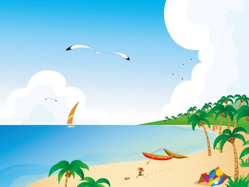 矢量夏日海滩 1 9壁纸 矢量风光 矢量夏日海滩 第一辑壁纸 矢量风光 矢量夏日海滩 第一辑图片 矢量风光 矢量夏日海滩 第一辑素材 矢量壁纸 矢量图库 矢量图片素材桌面壁纸
