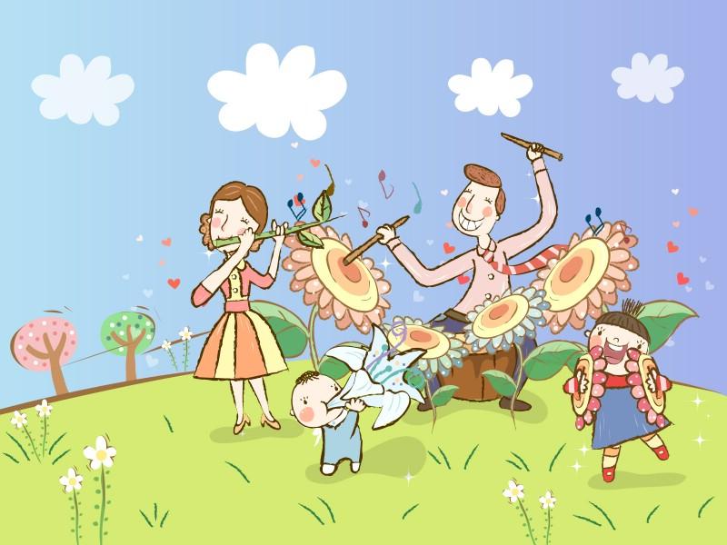幸福家庭 1 18壁纸 矢量卡通 幸福家庭 第一辑壁纸 矢量卡通 幸福家庭 第一辑图片 矢量卡通 幸福家庭 第一辑素材 矢量壁纸 矢量图库 矢量图片素材桌面壁纸