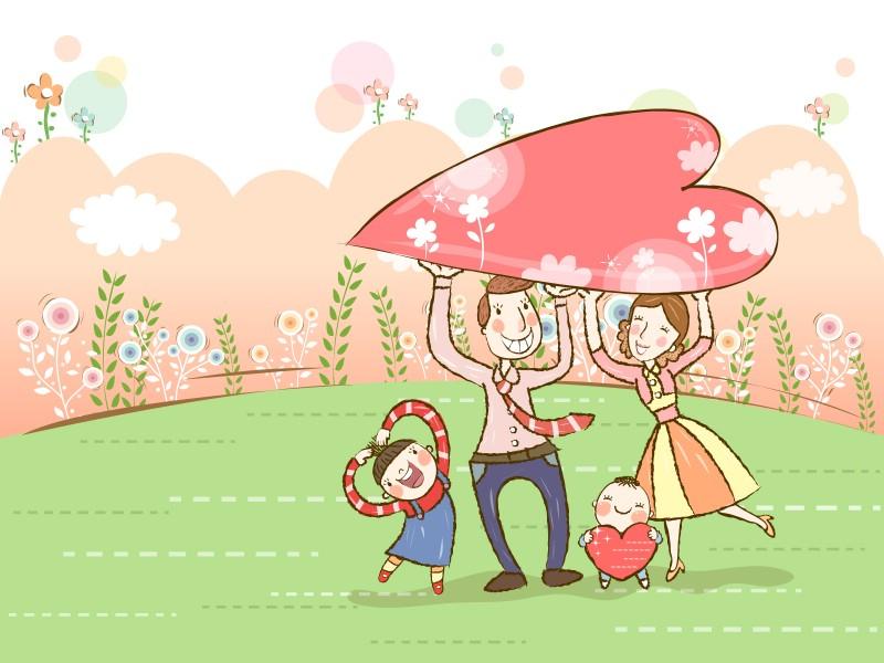 幸福家庭 1 1壁纸 矢量卡通 幸福家庭 第一辑壁纸 矢量卡通 幸福家庭 第一辑图片 矢量卡通 幸福家庭 第一辑素材 矢量壁纸 矢量图库 矢量图片素材桌面壁纸