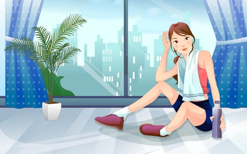 女性休闲运动 1 1壁纸 矢量女性 女性休闲运动 第一辑壁纸 矢量女性 女性休闲运动 第一辑图片 矢量女性 女性休闲运动 第一辑素材 矢量壁纸 矢量图库 矢量图片素材桌面壁纸
