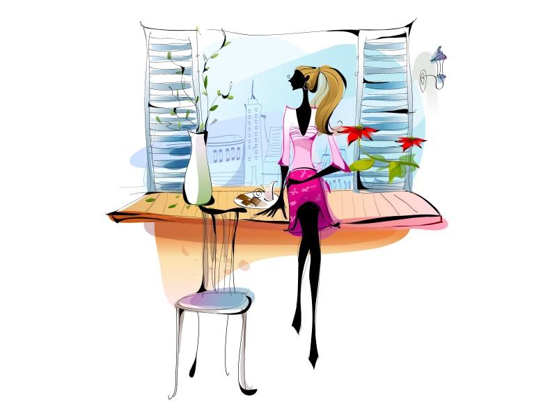 矢量时尚女孩 11 3壁纸 矢量时尚女孩壁纸 矢量时尚女孩图片 矢量时尚女孩素材 矢量壁纸 矢量图库 矢量图片素材桌面壁纸