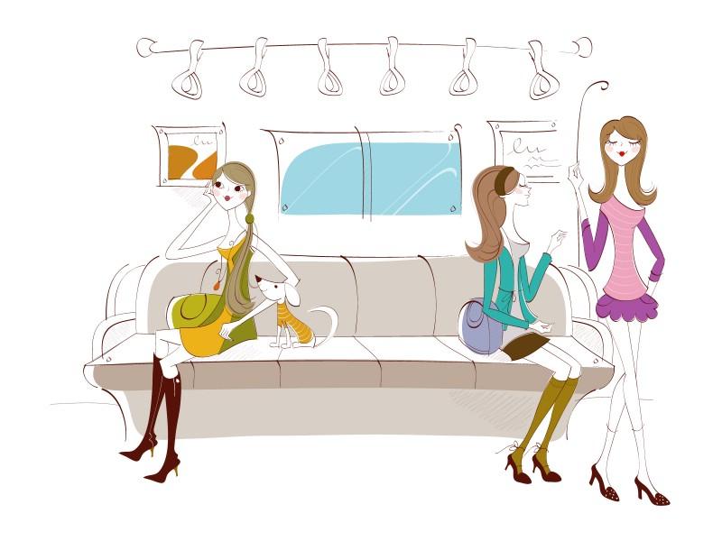 矢量时尚女孩 9 4壁纸 矢量时尚女孩壁纸 矢量时尚女孩图片 矢量时尚女孩素材 矢量壁纸 矢量图库 矢量图片素材桌面壁纸